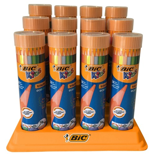 Bic Evolution Kuru Boya Metal Tüp 24'lü
